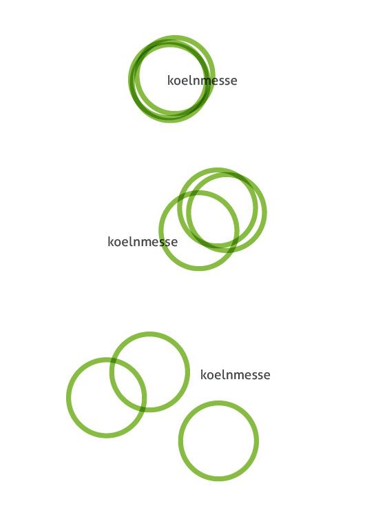Logostudie koelnmesse