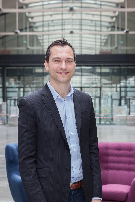 Portraits et rencontre à la Station F, Nathan Blecharczyk (co-fondateur d'Airbnb).