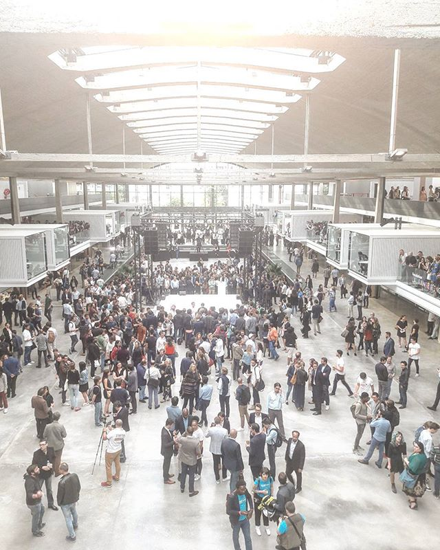 Happy to be the official photographer of the #stationf #inauguration