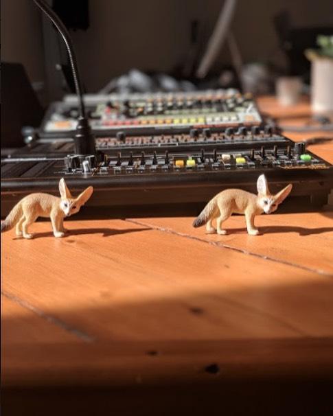 Feeling foxy in the studio #FridayFeeling
