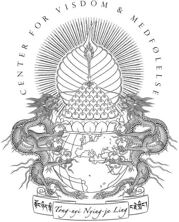 Medicin Buddhas Lysende Klare Land