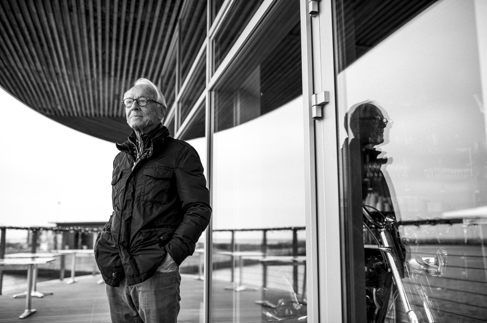 Bent Fabricius Bjerre 90 års portræt