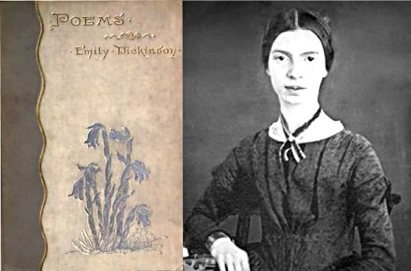 ... In her garden and in her writing. I often wondered what kind of relationship Dickinson had with plants given her reclusive nature and the lyrical way she wrote about flora and fauna. Her book of poetry, above, features Indian Pipe (aka Ghost Pipe) on the cover and in several poems. The Emily Dickinson Museum in Amherst, MA, is currently working to restore her  garden and greenhouse.