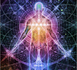 The light body. Everything is stored within us as different patterns of energy.