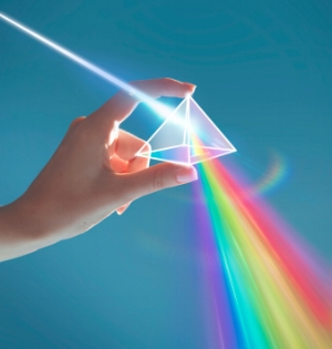 You need both light and dark to create a rainbow  Image via InsideHigherEd.org