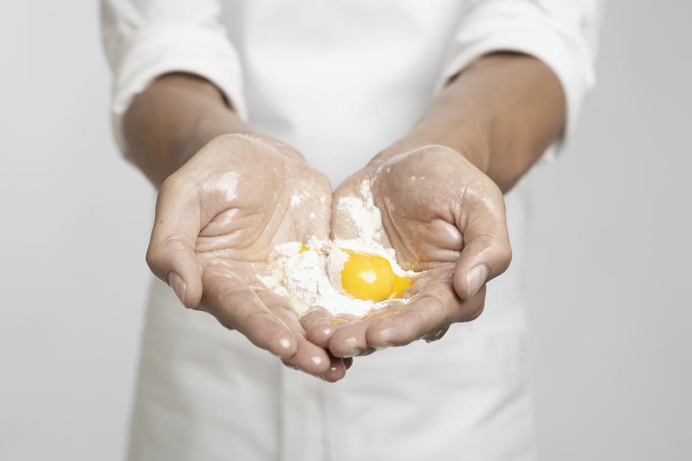 Nosso produto é natural e genuino porquesóusamos os melhores ingredientes.   Afinal,la pasta buona è un'arte da gustare.