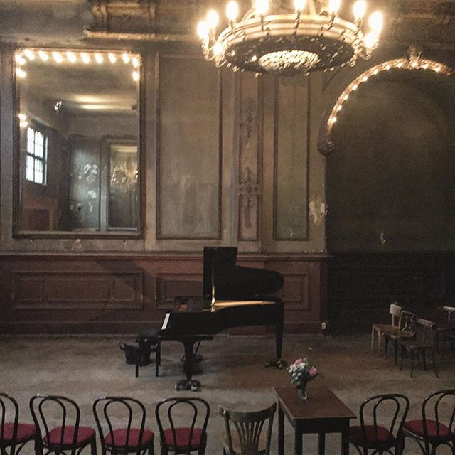 Fantastic to be playing in this crazy sexy Spiegelsaal last night in Berlin!! First time I've played in #Berlin in while without being accompanied by perfume, food, or pornography.  #piano #music #classicalmusic #concert #recital #the100project 97/100