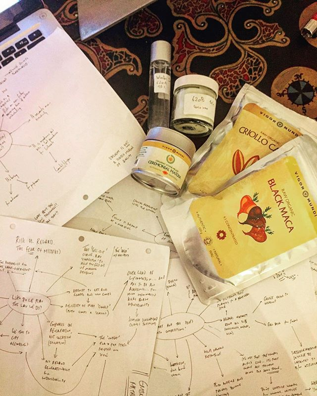 Six weeks between concerts = book writing time!! Made all the more easier with the snow outside, flowcharts, some new perfumes stolen from @the_crossmodal_nose at our concert last weekend and the BEST superfoods courtesy of @vigormundi - thanks Dez!  Now just to figure out how to write a book. Also, watching people walking through snow whilst in the  warmth of your flat provides a mildly sadistic pleasure that I'm not sure whether to feel guilty of or not.  #writing #book #matcha #cacao #berlin #perfume