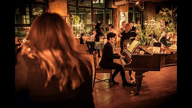 Found these gorgeous photos from the first Poetry Brothel in #Berlin last year - gorgeous not because of content, perhaps, but clearly the photographer knew what he was doing.  #piano #classical #music #concert #recital #poetry #l