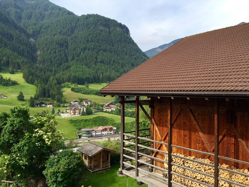 Farm diggs at Sule-Hof in Ortisei. Hospitality in the extreme.
