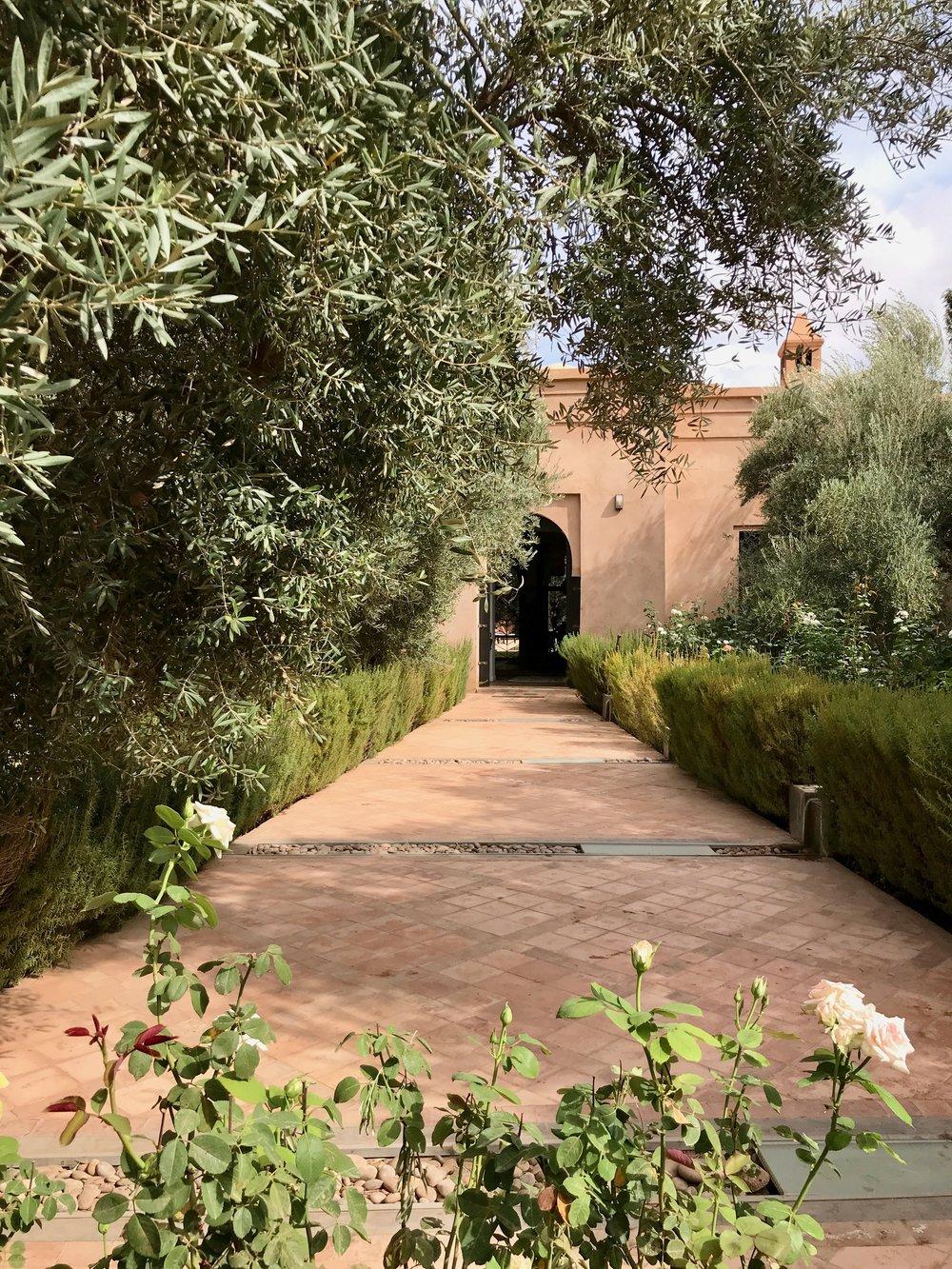 Entryway to Peacock Pavilions. An unfolding secret garden...