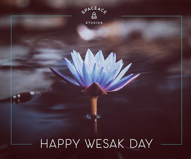 Happy Wesak Day 🌸 . . . .  #wesak #vesak #vesakday #holiday #socialmedia #graphicdesign #font #typography #type #photography #creativeagency #design #designagency #creative #lotus