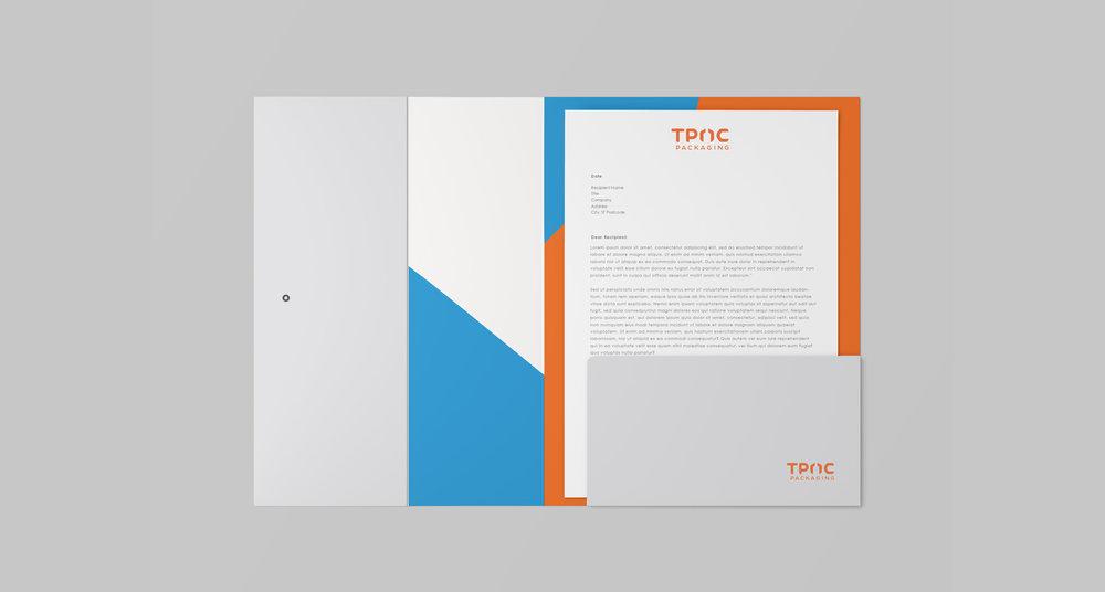 TPAC Corporate Folder Design