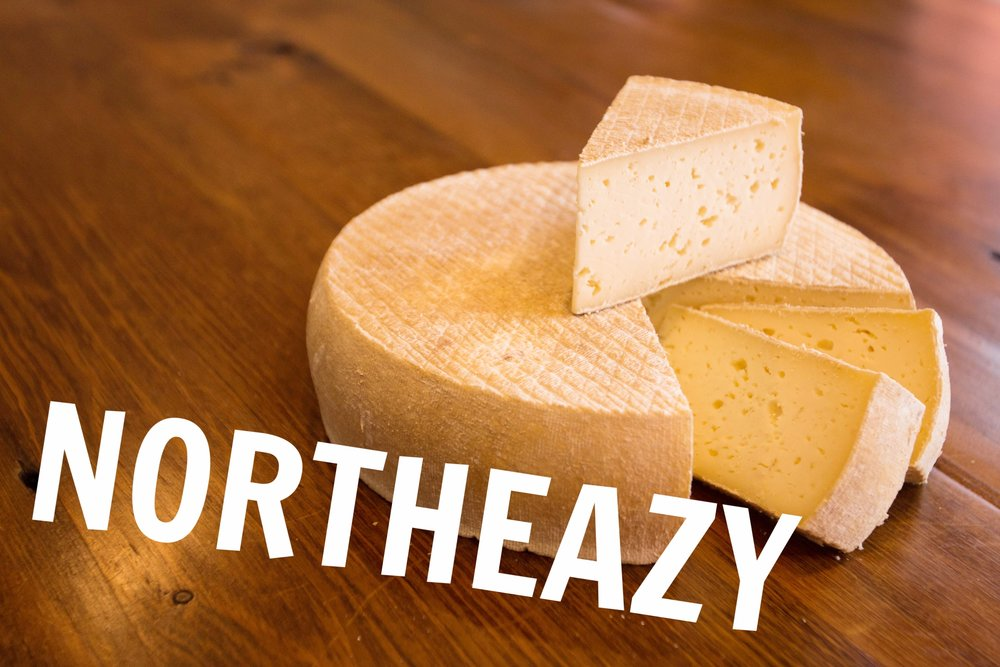 Northeazy Tomme is made with whole milk from Minnesota grass-fed cows for a buttery and slightly tart paste. The rind contributes fruity, floral and mushroomy notes that will intensify with age, along with nutty & piquant notes in extra-mature wheels. The texture starts out slightly crumbly but smooths as the cheese matures.