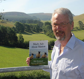 Bob Kennard near his home in mid-Wales