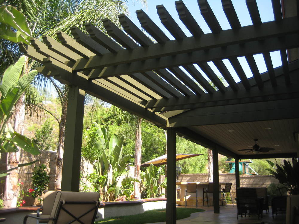 Corona, Ca -Pergola + Patio Cover