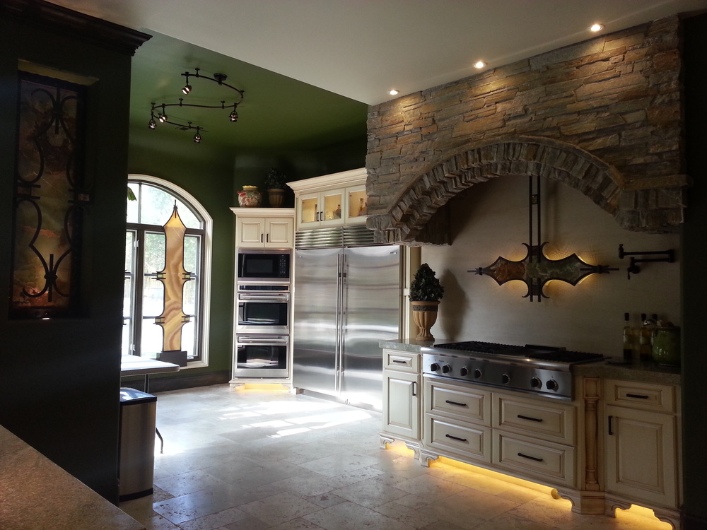 Rancho Santa Fe, Ca -Custom Kitchen