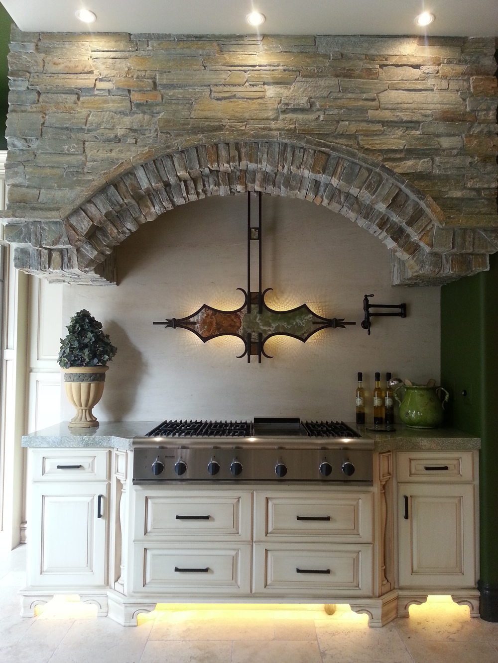 Rancho Santa Fe, Ca -Custom Kitchen -Custom Range Hood