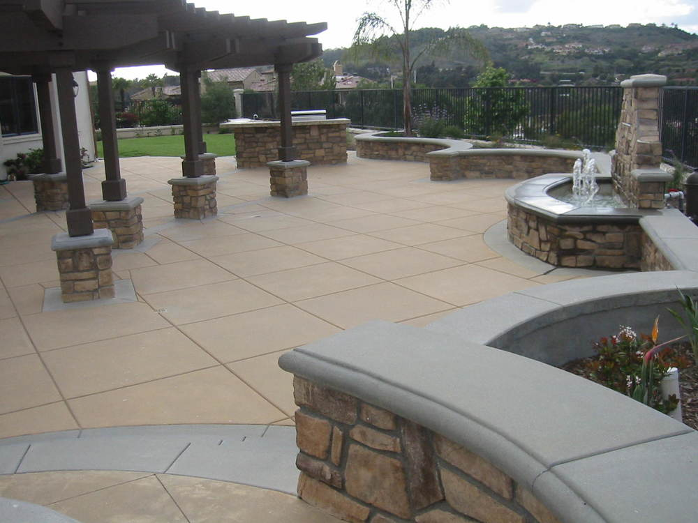 Rancho Santa Fe, Ca -Landscape Project -Tuscan Style
