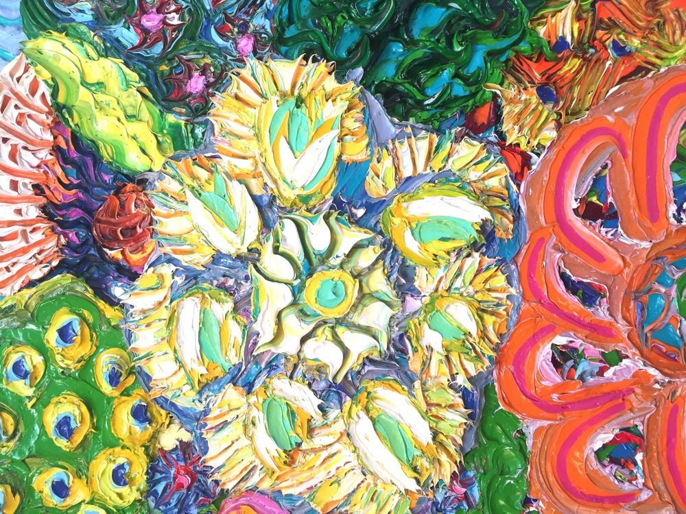 detail, Sunflower