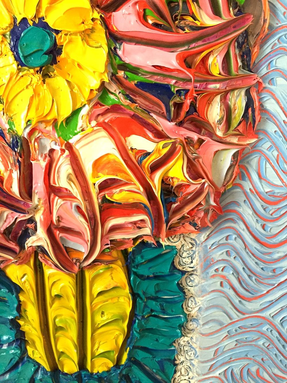 detail, Cactus Flower