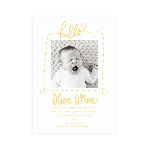 Hello – Birth Announcement Website