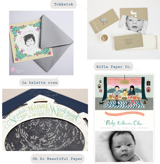 birth announcement ideas, creative birth announcements, birth announcements