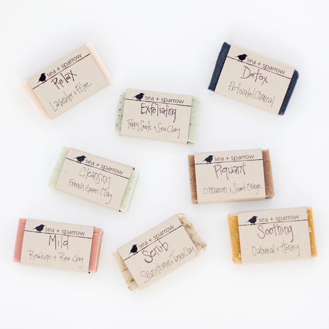 sea+sparrow natural soap, natural soap made with essential oils, natural soaps, take flight blog
