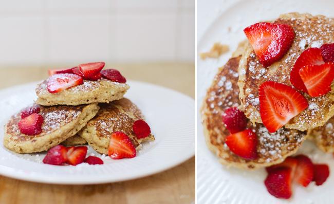 beginners food for babies, finger food for babies, oatbran pancakes, banana pancakes