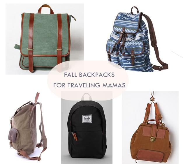 Maison Everett Blog, Fall Backpacks for Mamas, Backpacks for Travel