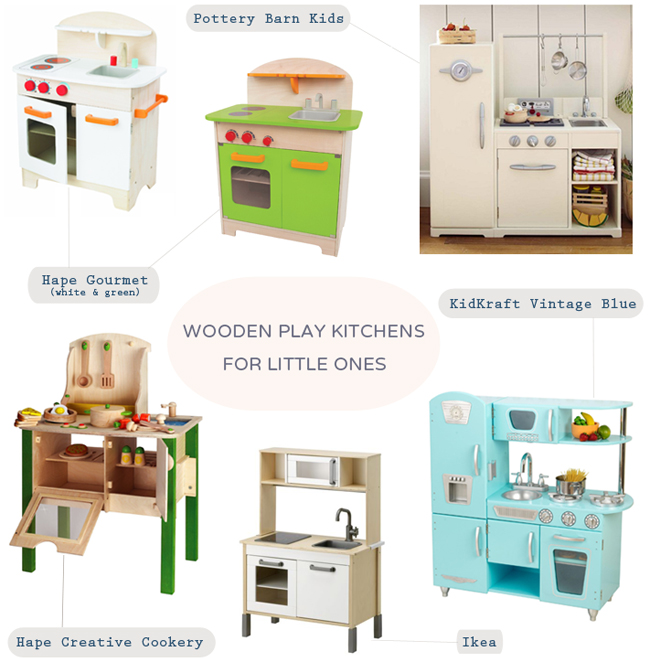 wood play kitchens, wooden play kitchens, play kitchen for toddler, maison everett blog