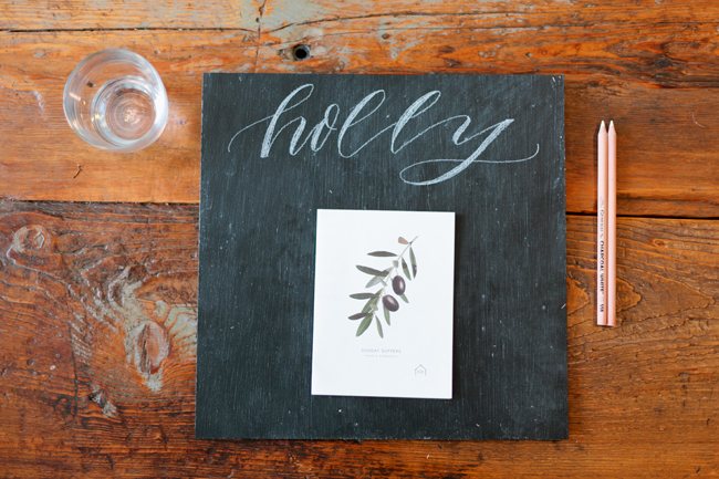 molly jacques workshop review on maison everett blog, katherineholly calligraphy