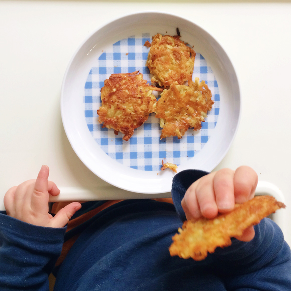 Maison Everett Blog | sweet potato hash browns, real food for babies, finger food for babies