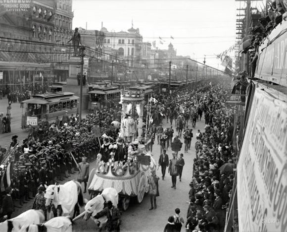mardi gras 1900s, maison everett blog