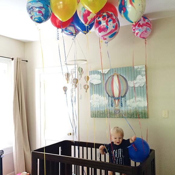 Maison Everett Blog, Birthday Balloons, Surprise Birthday, Little One's Birthday