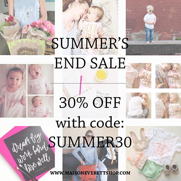 Maison Everett Shop, Sale, Summer Sale