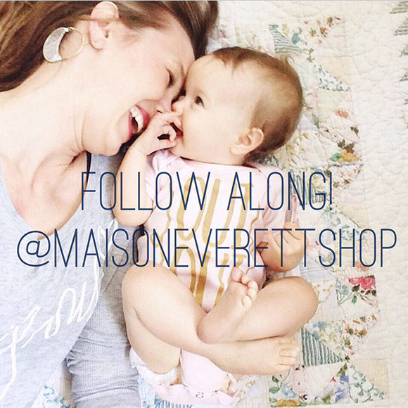 Maison Everett Shop on Instagram
