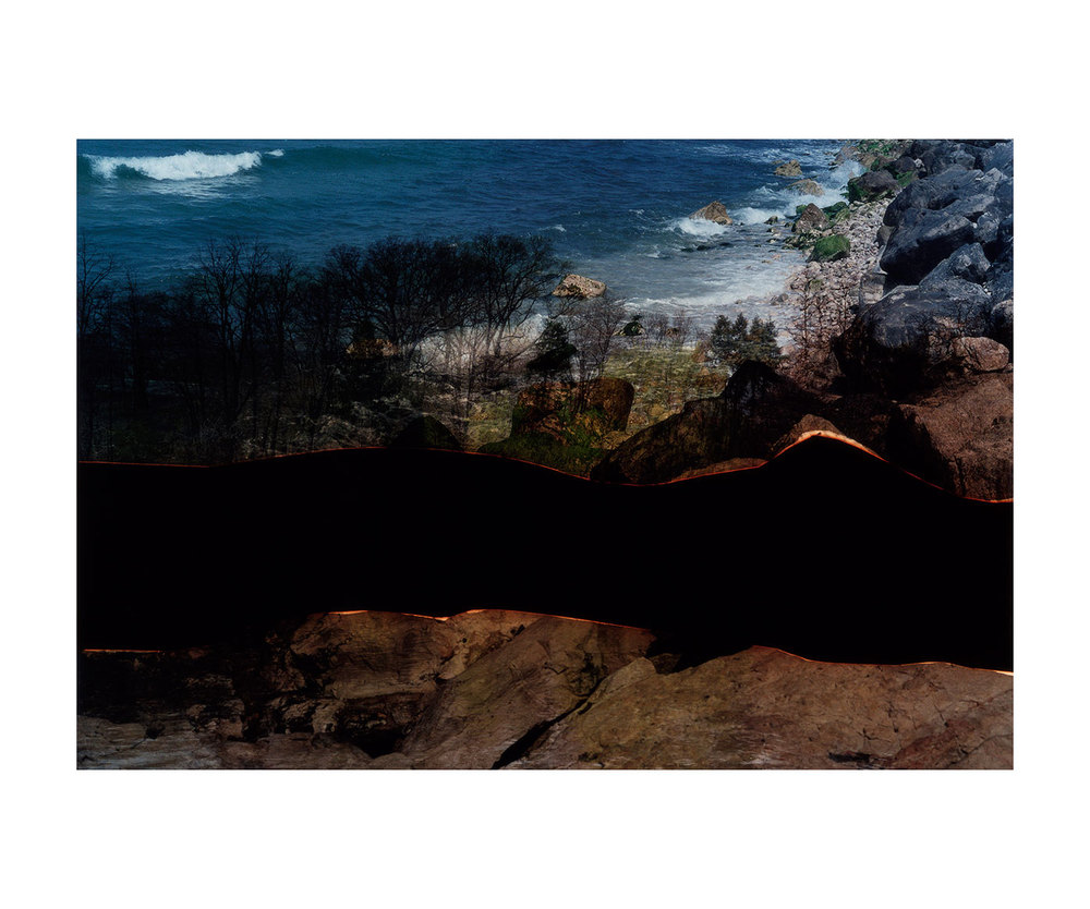 Dafna Talmor, Untitled (1112-2), 2012 from Constructed Landscapes, C-type handprint