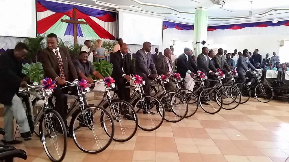 These bikes are some of the most powerful gospel tools in Tanzania