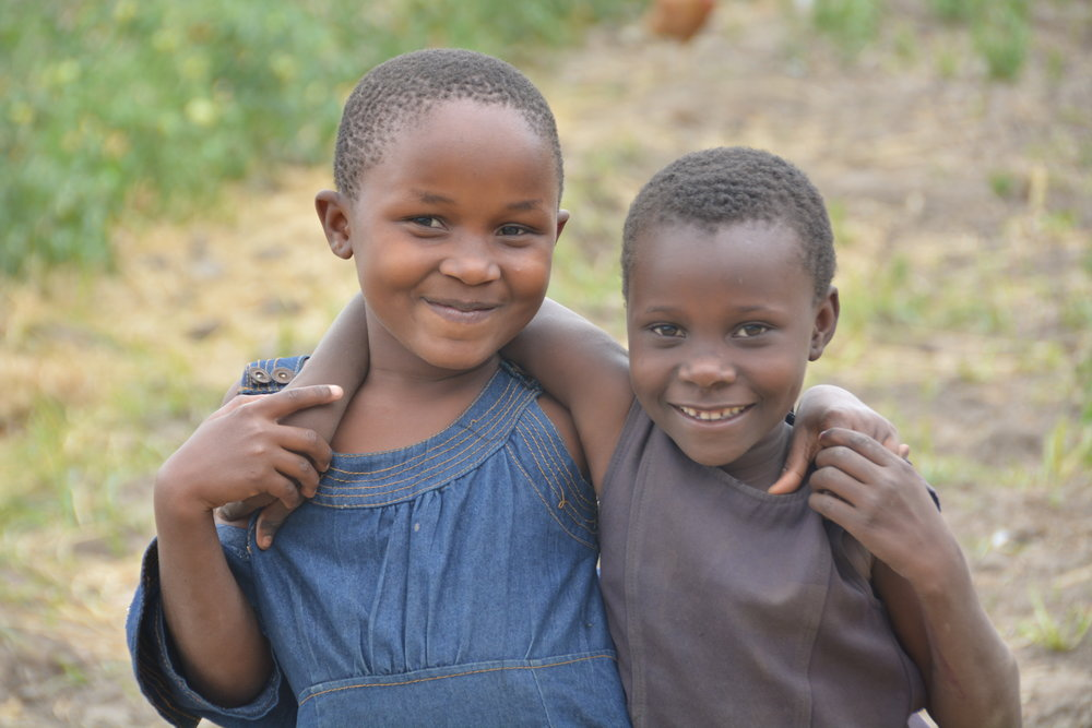 Two of the beautiful children of Dihombo