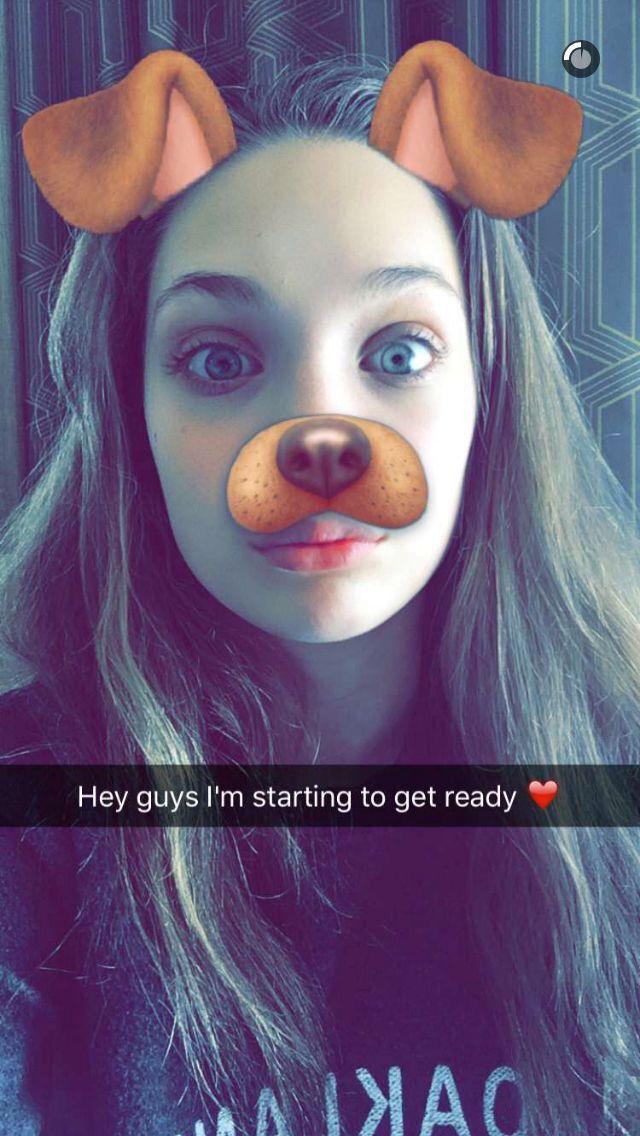 Madison Ziegler, Snapchat Photos