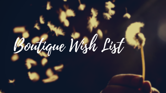 Boutique Wish List