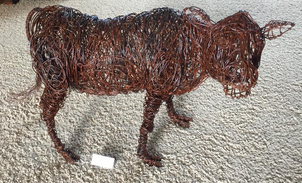'Cows Know' by artist Josh Brooke Cote.
