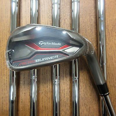 TaylorMade AeroBurner 4-AW Golf Club Irons RH S Flex