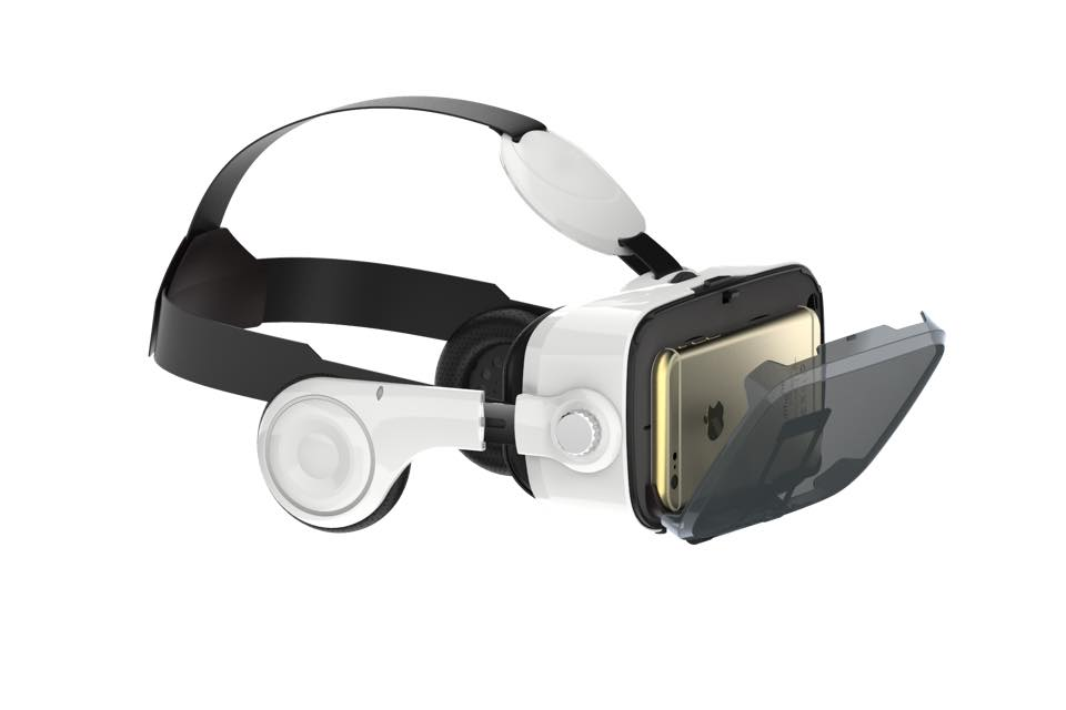 Bionicvision + Virtual Reality headset
