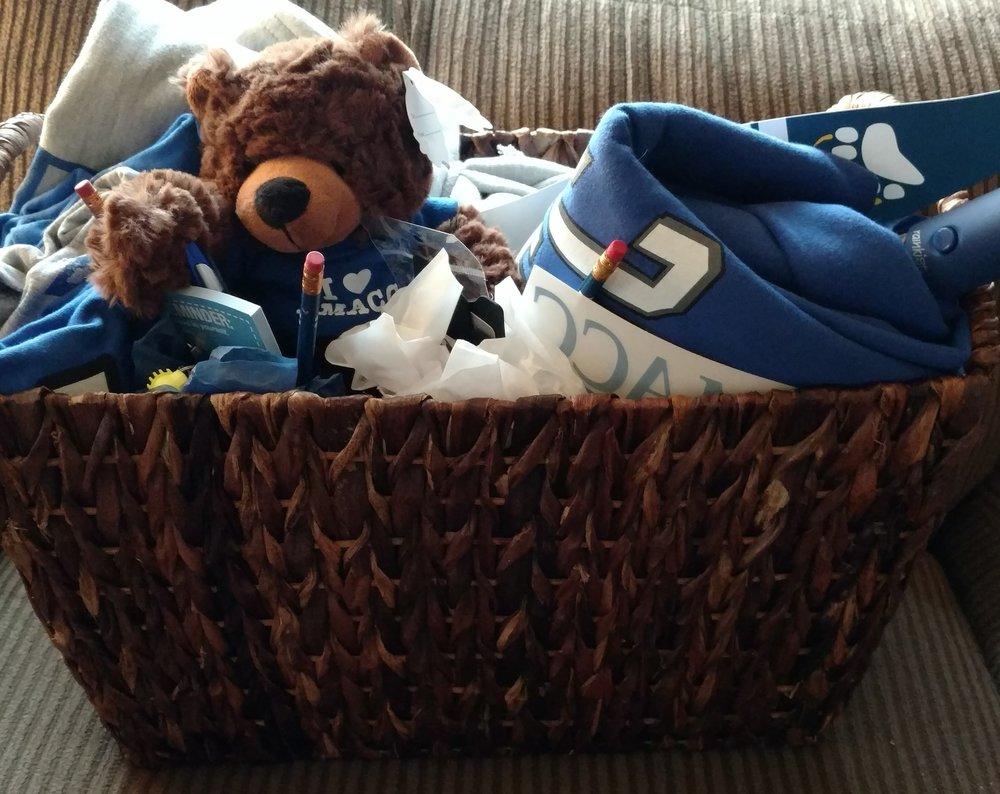 DMACC gift basket -