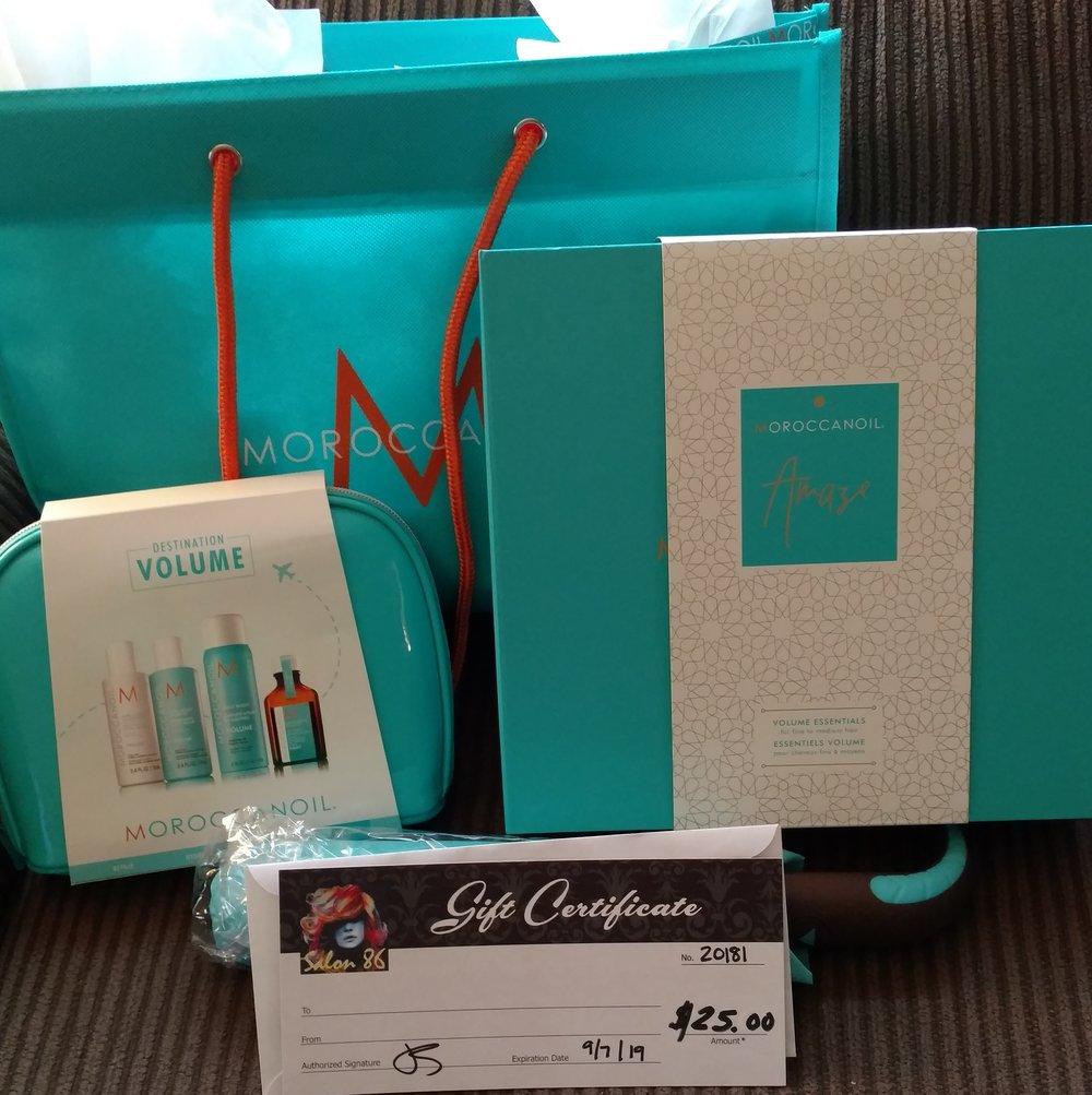 Salon 86 Gift Basket -