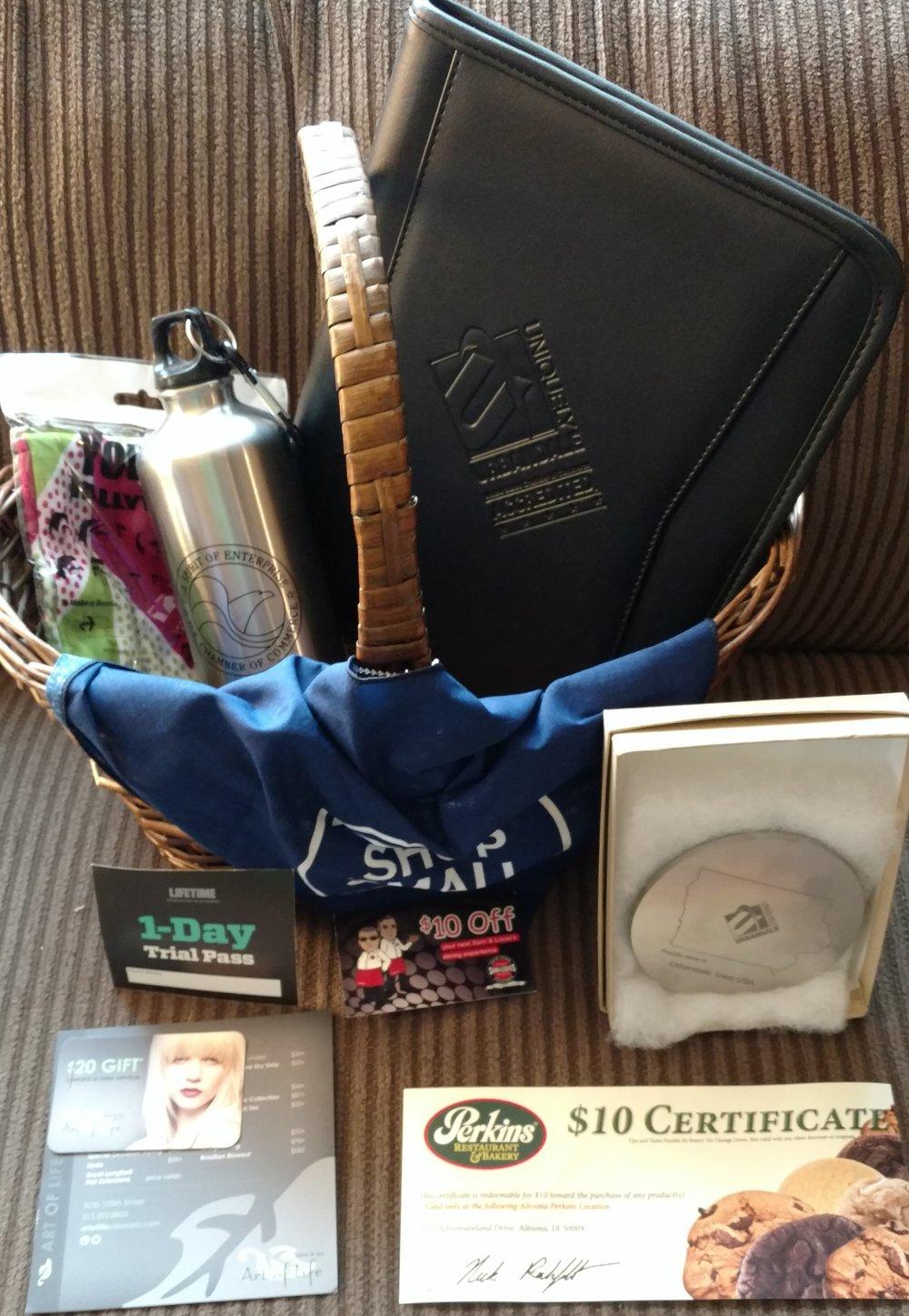 Urbandale Chamber Gift Basket -