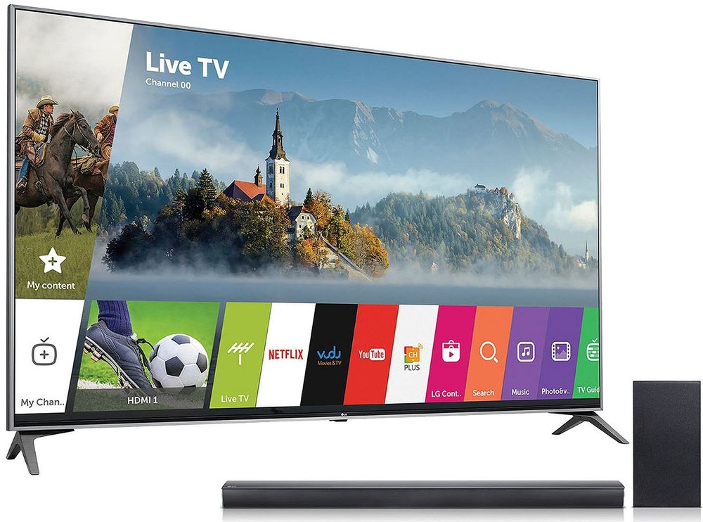 TV bundle - LG 55