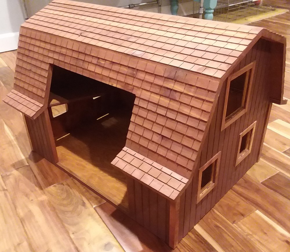 Wood Barn - Wood Barn - Donated by Department of Corrections, Rockwell City Inmates
